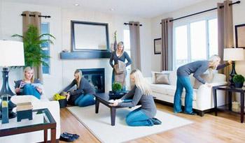 Проведения генеральных уборок дома и в офисе.